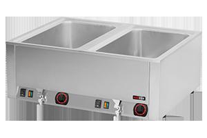 BMV-2120 RM vodní lázeň s výpustí 2xGN-1/1-200