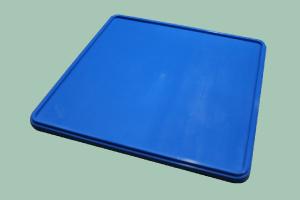 C-1200 víko koše plastové modré