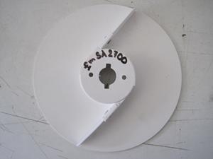 Disk REDFOX vyprazdňovací plast. vysoký