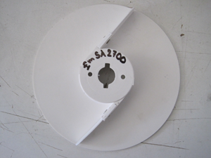 Disk vyprazdňovací plastový nízký pro PSP 100, 300