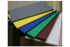 DP-53015H Deska plast hnědá 50x30x1,5