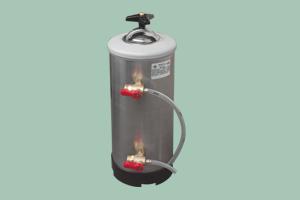 LT-8 Změkčovač vody 8l 2xkohout