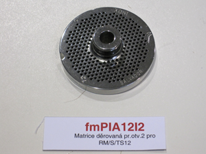 Matrice děrovaná pr.otv.2 pro RM/S/TS12