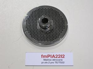 Matrice děrovaná pr.otv.2 pro TE/TS22