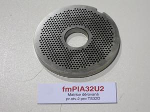 Matrice děrovaná pr.otv.2 pro TS32D