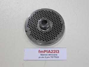 Matrice děrovaná pr.otv.3 pro TE/TS22