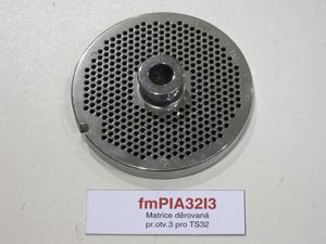Matrice děrovaná pr.otv.3 pro TS32