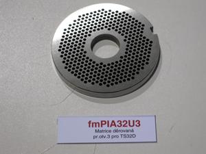 Matrice děrovaná pr.otv.3 pro TS32D