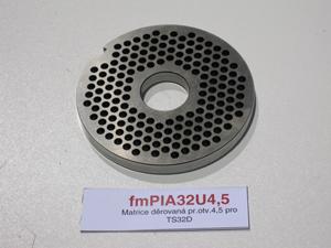 Matrice děrovaná pr.otv.4,5 pro TS32D