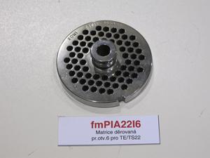 Matrice děrovaná pr.otv.6 pro TE/TS22
