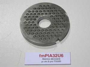 Matrice děrovaná pr.otv.6 pro TS32D