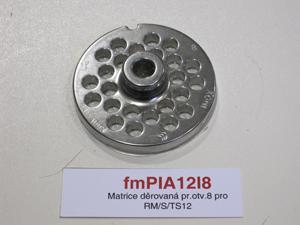 Matrice děrovaná pr.otv.8 pro RM/S/TS12