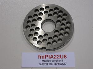 Matrice děrovaná pr.otv.8 pro TE/TS22D