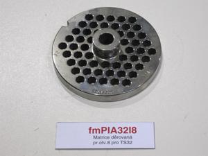 Matrice děrovaná pr.otv.8 pro TS32