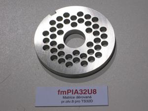 Matrice děrovaná pr.otv.8 pro TS32D
