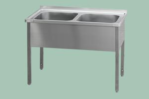 MSD-210x70x90(2x95,51x38)Stůl mycí dvoudř