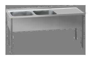 MSDOP-160x60x90/2x50x40 Stůl odk.pl.prav