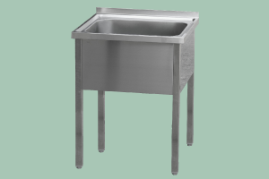 MSJ-70x60x90(60x50x32)Stůl mycí jednodř.
