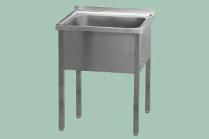 MSJ-70x70x90(50x50x30)Stůl mycí jednodř.