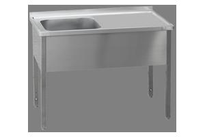 MSJOP-100x60x90/50x40 Stůl dřez, odkap.pl.vpravo