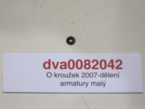 O kroužek 2007-dělení armatury malý