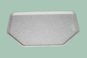 Podnos polyester 50x35 sůl/pepř - Hexagonal