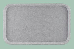 Podnos polyester 53x37 EUR sůl/pepř - Euronorma