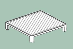PRF/9 Grilovací plech rýhovaný pro 900