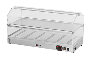 VEC-820 Vitrínka tepelná dvoupatrová 800 (VEC-208)