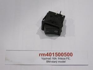 Vypínač 16A  fritéza FE,BM-starý model