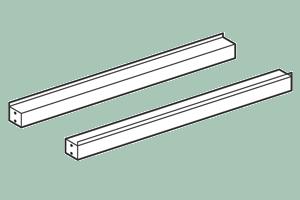 TSP-4 Spojovací lišta 40 x 6 x 6 v cm