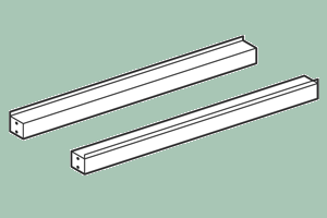 TSP-10 Spojovací lišta 100 x 6 x 6 v cm
