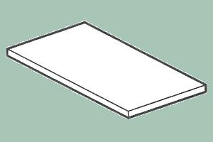 TG-4 Plastová deska 39 x 58 x 2,5 v