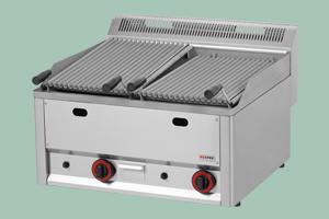 GL 60 GLS - Lávový gril pl. dvojitý 2x 31x48 bez pod.