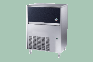 IMC 8040 A - Výrobník ledu chlazený vzduchem kostkový led 18 g 80 kg/24h