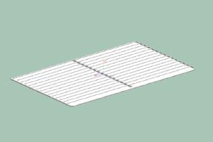 Rošt LS - poplastovaný GN 2/1