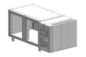 SCH-2AP Korpus stolů chladicích, agr.vpravo