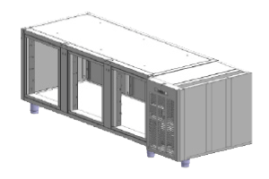 SCH-3AP Korpus stolů chladicích, agr.vpravo