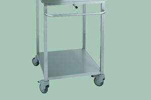 VO-1011 zavážecí vozík pro konvektomat 1011 (zelený)