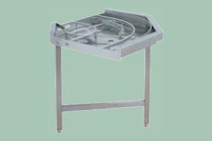 CT-171 Stůl 90° s podáváním výstupní, 800 x 800 mm