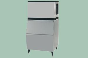 N-215AW Výrobník kostkového ledu - chlazení vodou + zásobník