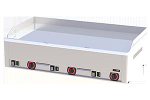 FTHC 90 E - Grilovací deska 97x48 el. chrom. hladká, stolní 400 V