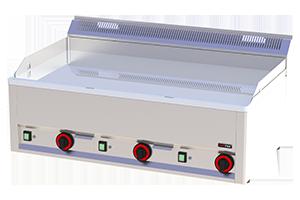 FTHC-90 EL Grilovací plotna hladká chromovaná