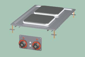 PCQD-64ET Sporák stolní elektrický