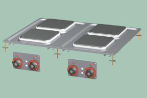 PCQD-68ET Sporák stolní elektrický