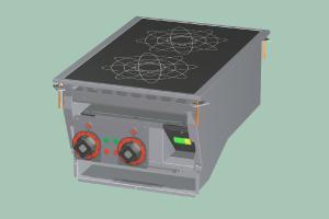 PCID-64ETD Sporák stolní indukční s digitálním ovládáním