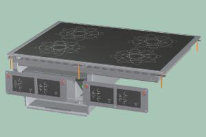 PCID-68ET Sporák stolní indukční