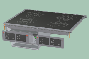 PCID-68ETD Sporák stolní indukční s digitálním ovládáním