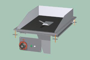 FTCD-64EM Plotna grilovací sklokeramická