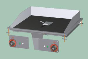 FTCD-66ET Plotna grilovací sklokeramická